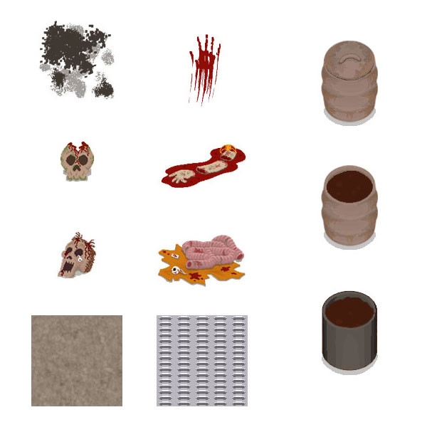 Some pixel art assets