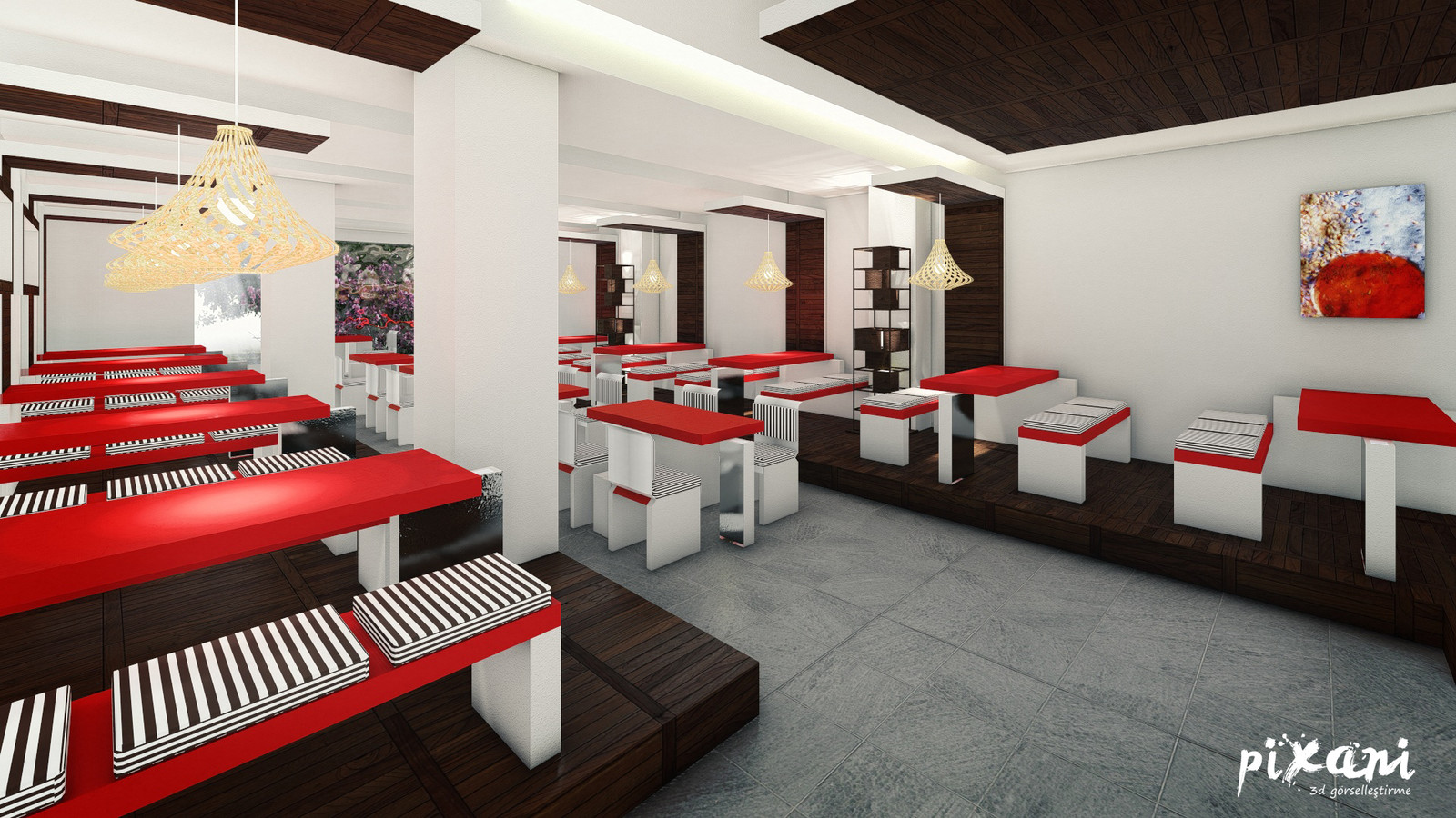 First Dining Hall of Karebant KAREBANT REFECTORY