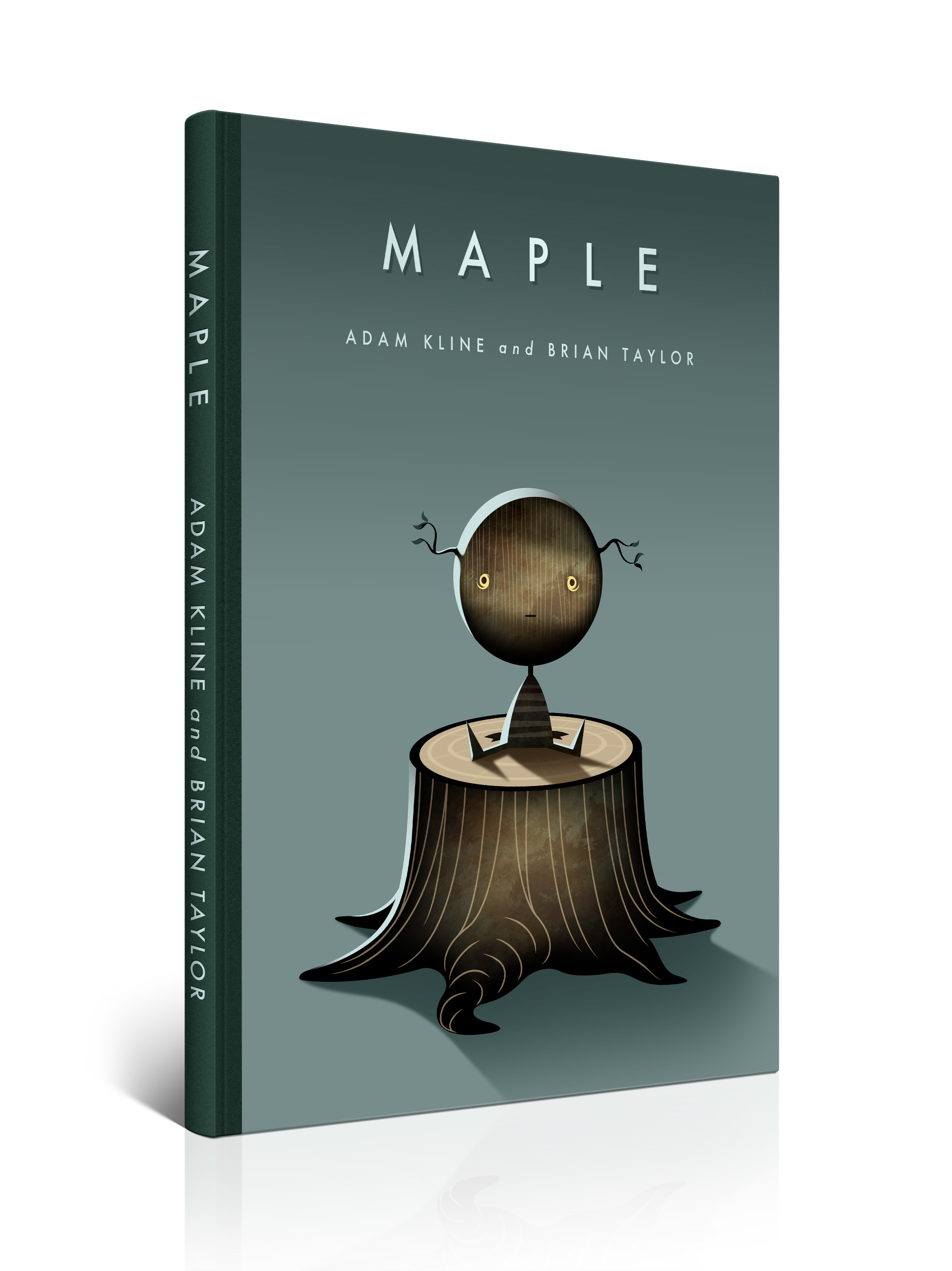 Maple book concept