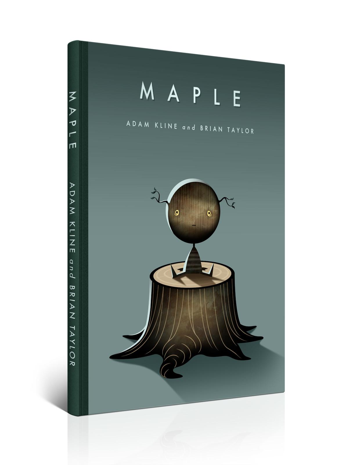 Maple book concept