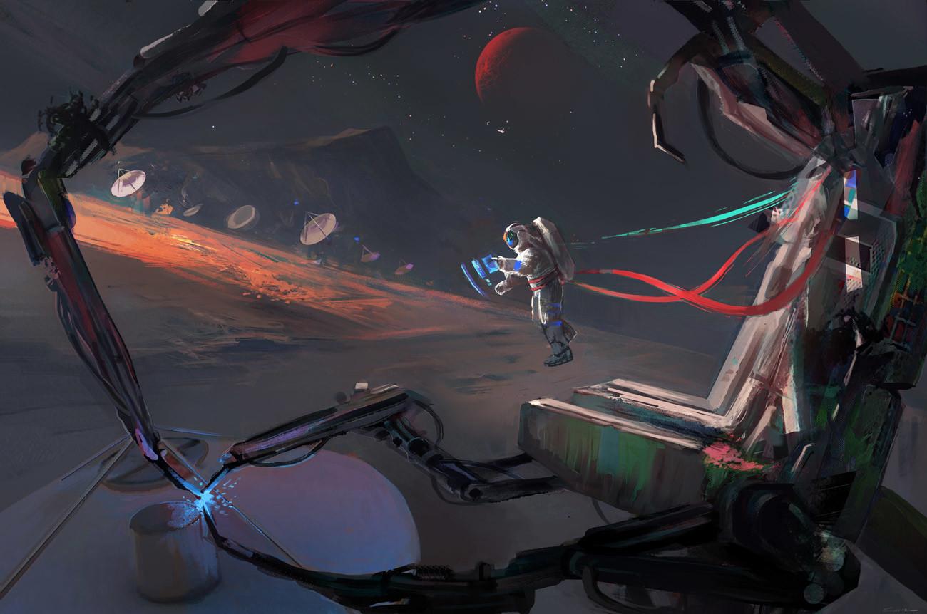 Scientific space station 2