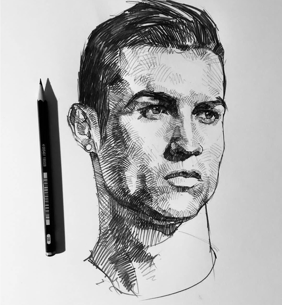 Artstation cristiano ronaldo mad at art