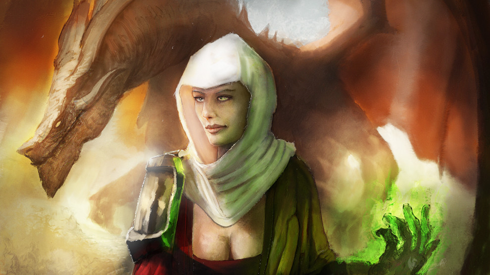 Finished illustration