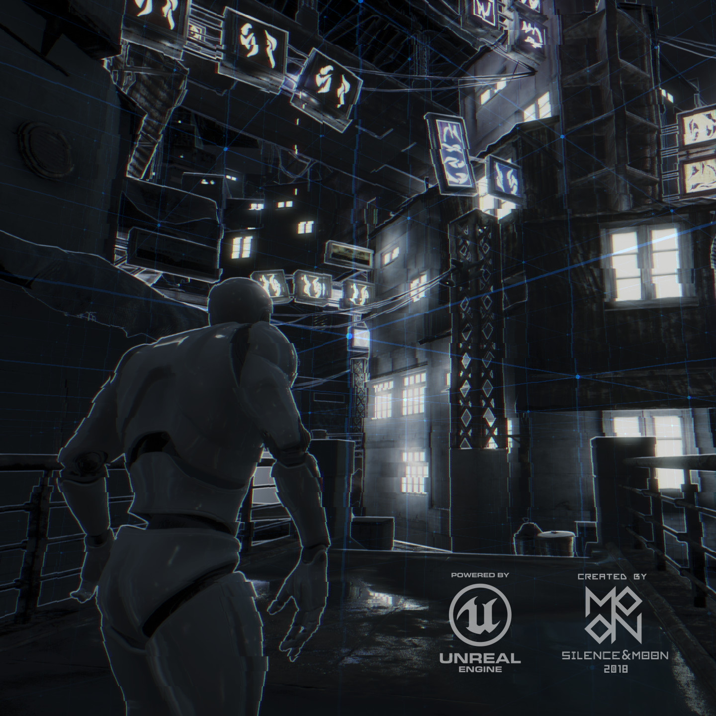 Yue Jia Remake The Detect Vfx Of Detroit Become Human Using Unreal Engine 4