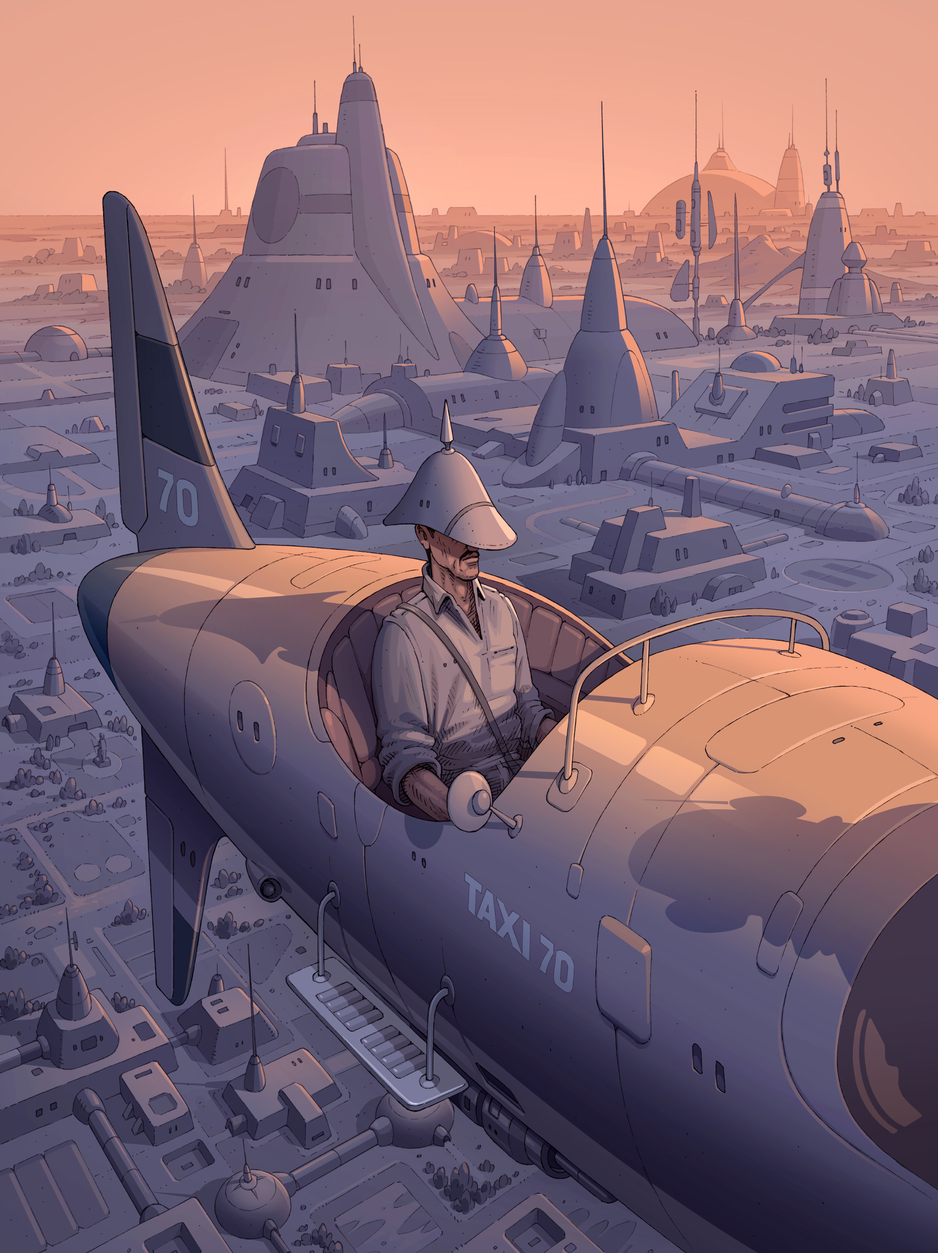 Major Grubert (Tribute to Moebius)