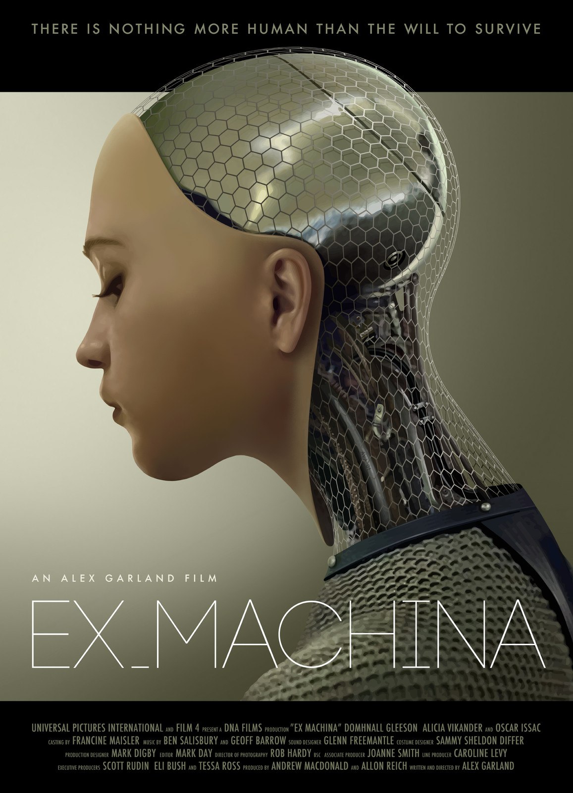 Unofficial Poster for Ex-Machina