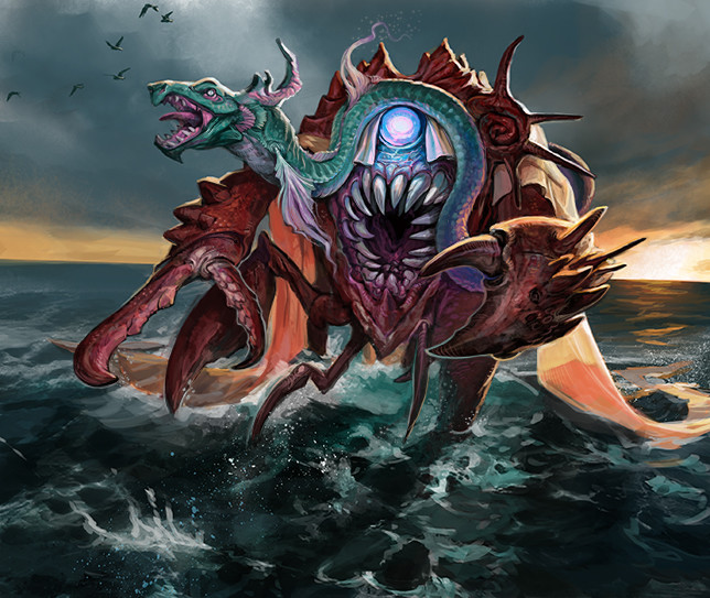 Water Earth Eater Oracle