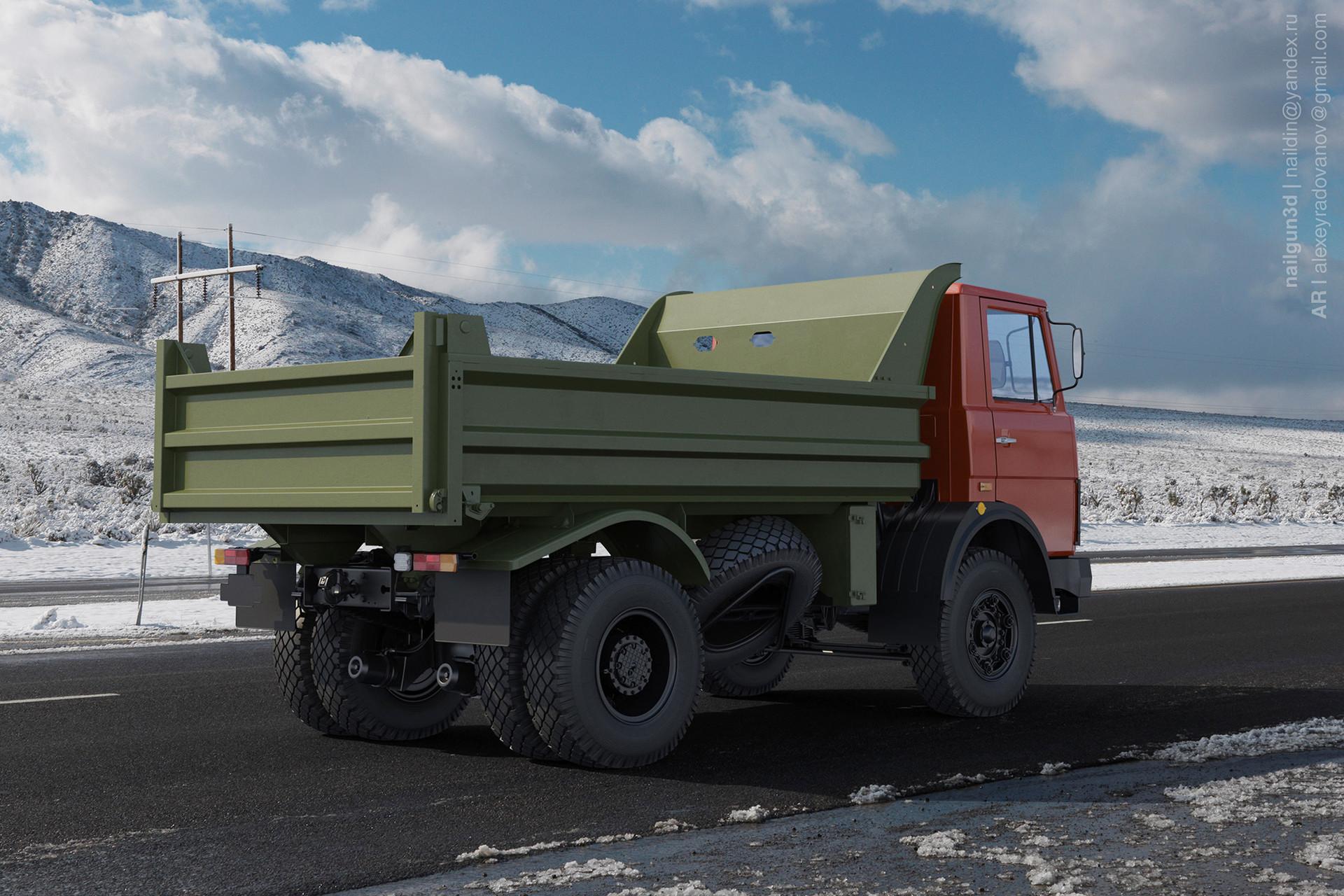 Nail khusnutdinov alg 031 010 maz 5551 rear view 3x