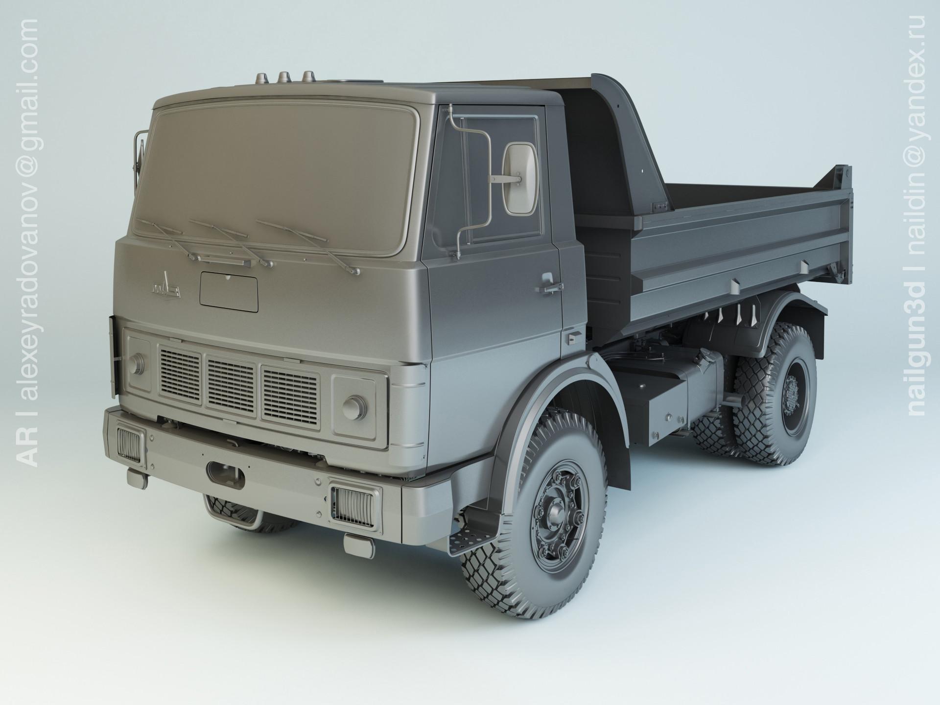 Nail khusnutdinov alg 031 002 maz 5551 modelling 0