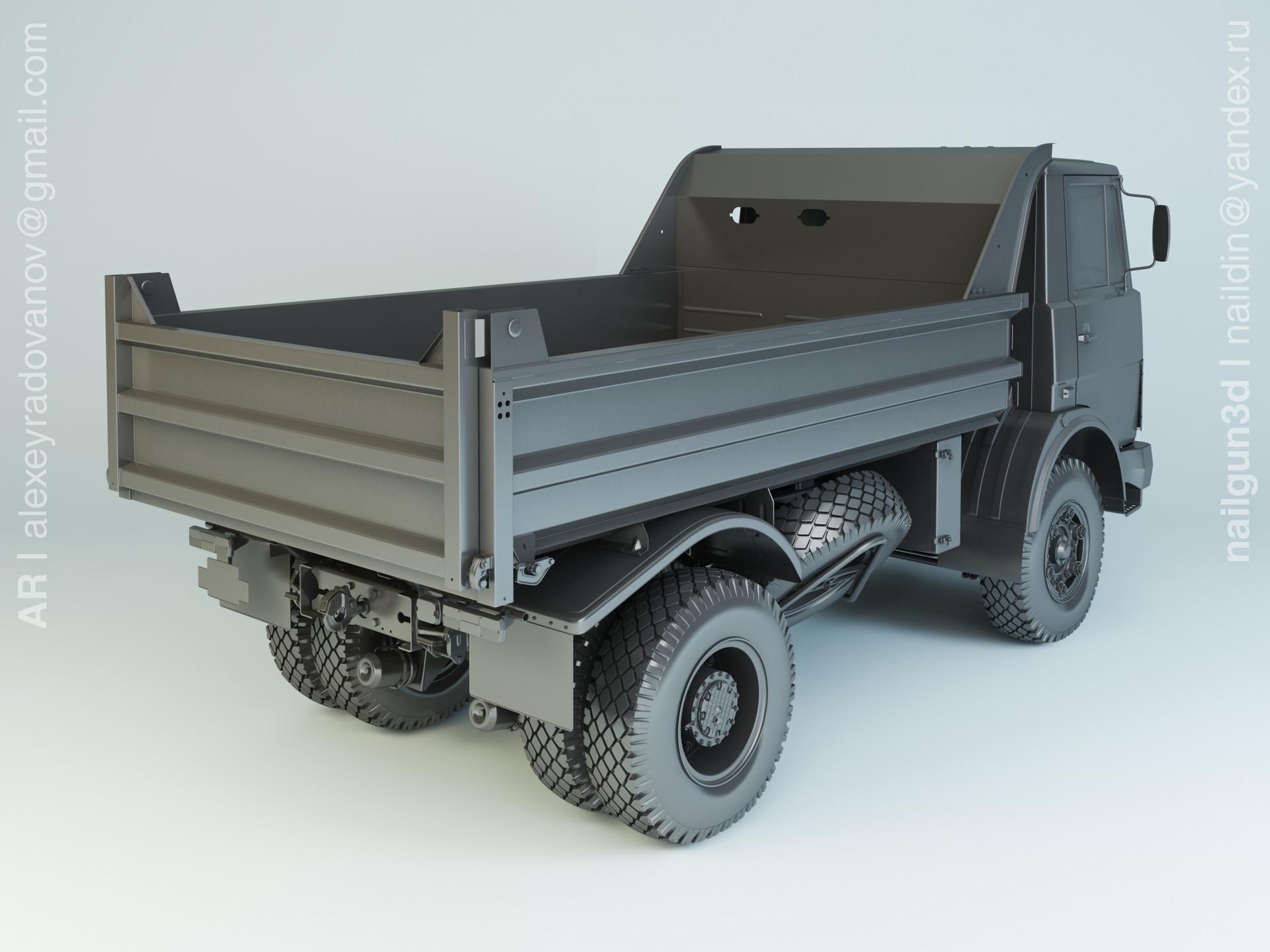 Nail khusnutdinov alg 031 002 maz 5551 modelling 1