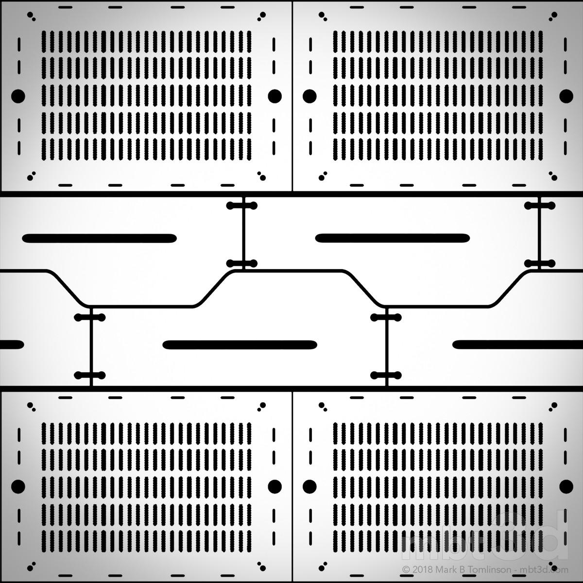 Sci-Fi Plate Metalness