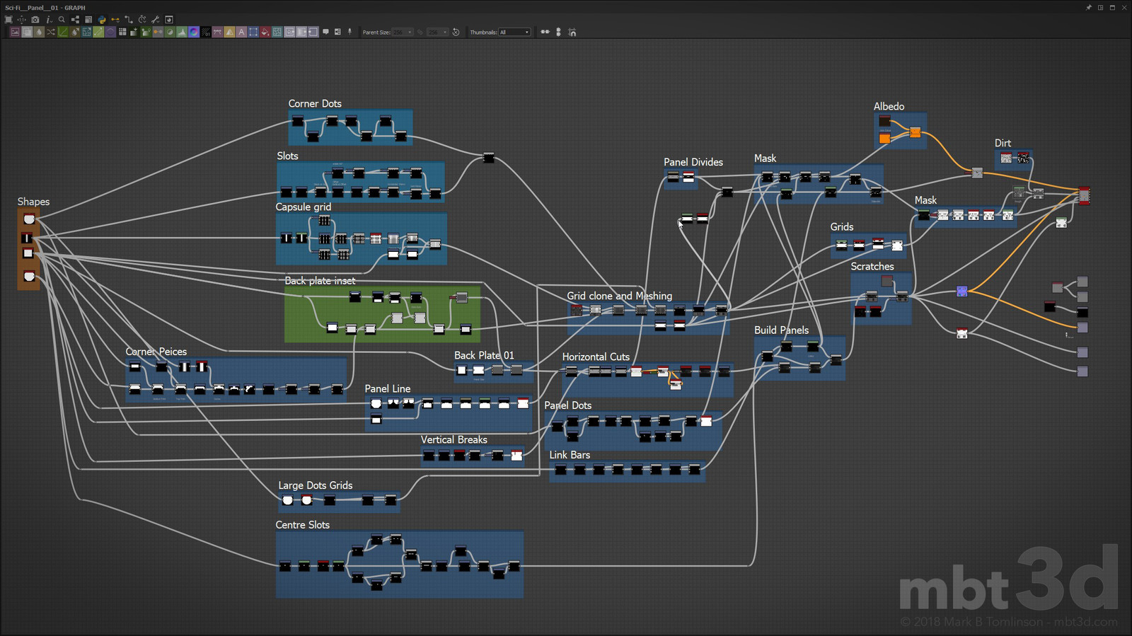 Substance Designer Node Graph