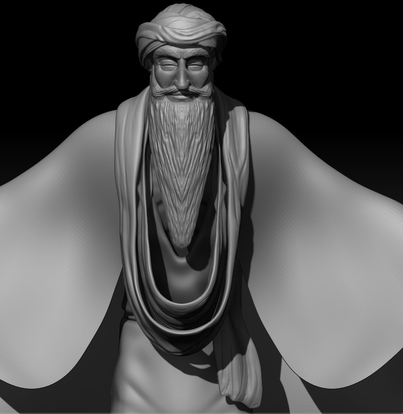 Wizard - front view