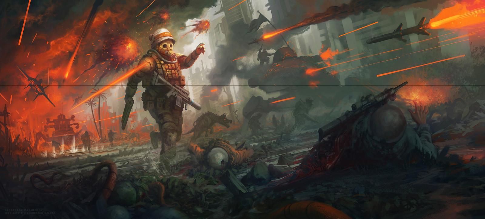 ORDER 227_ Combat scene concept.