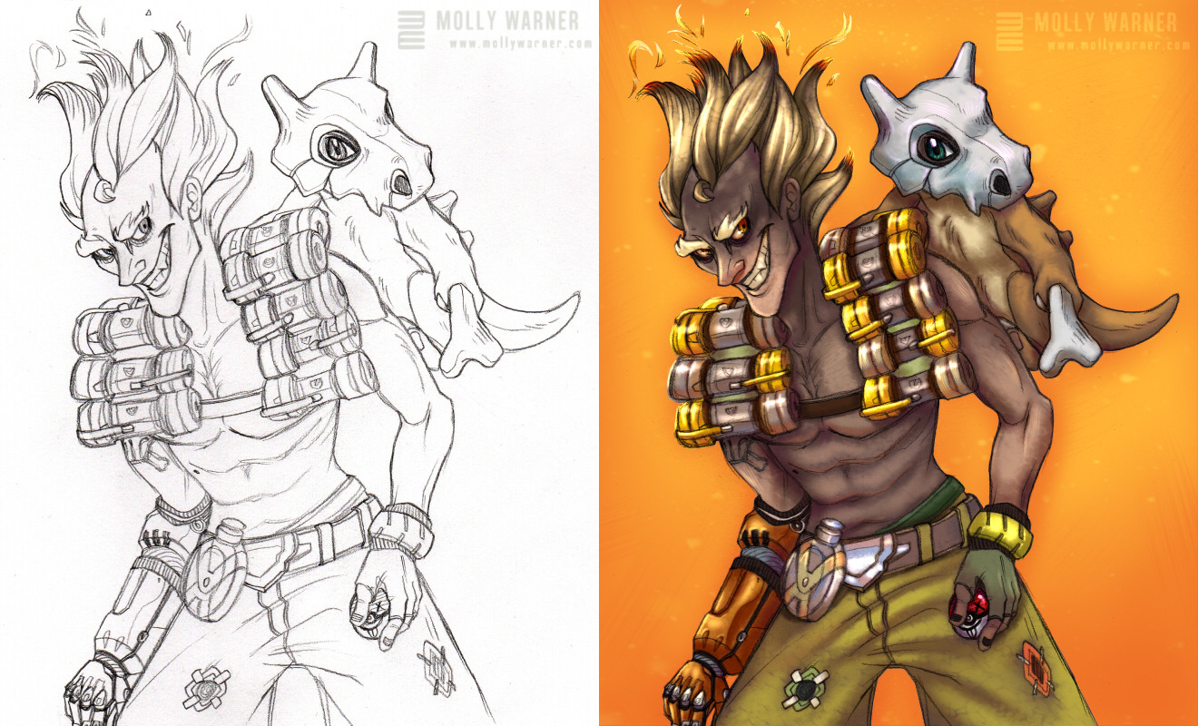Molly warner junkrat cubone combined