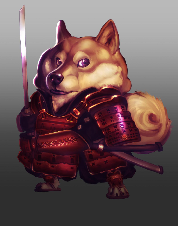 Samurai Doggo
