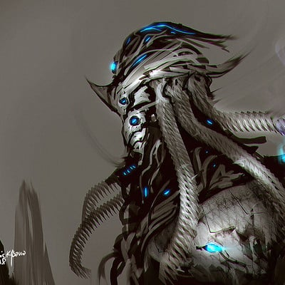 Benedick bana warframe hydroid fan art final lores