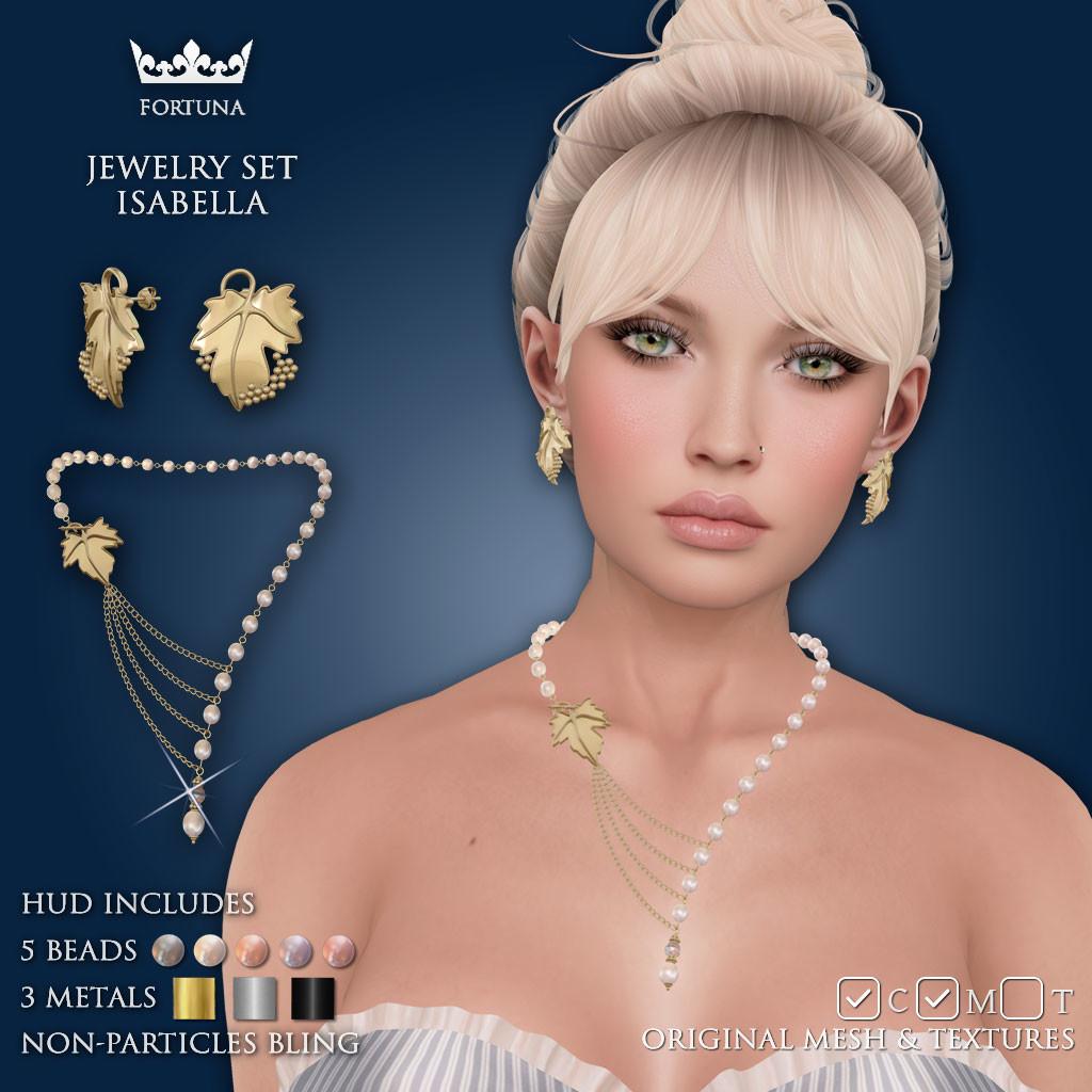 ArtStation - Jewelry set Isabella, Dmitry Osokin