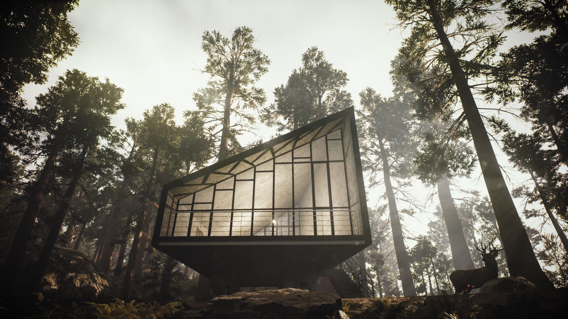 ArtStation - House in nature environment, Pasquale Scionti
