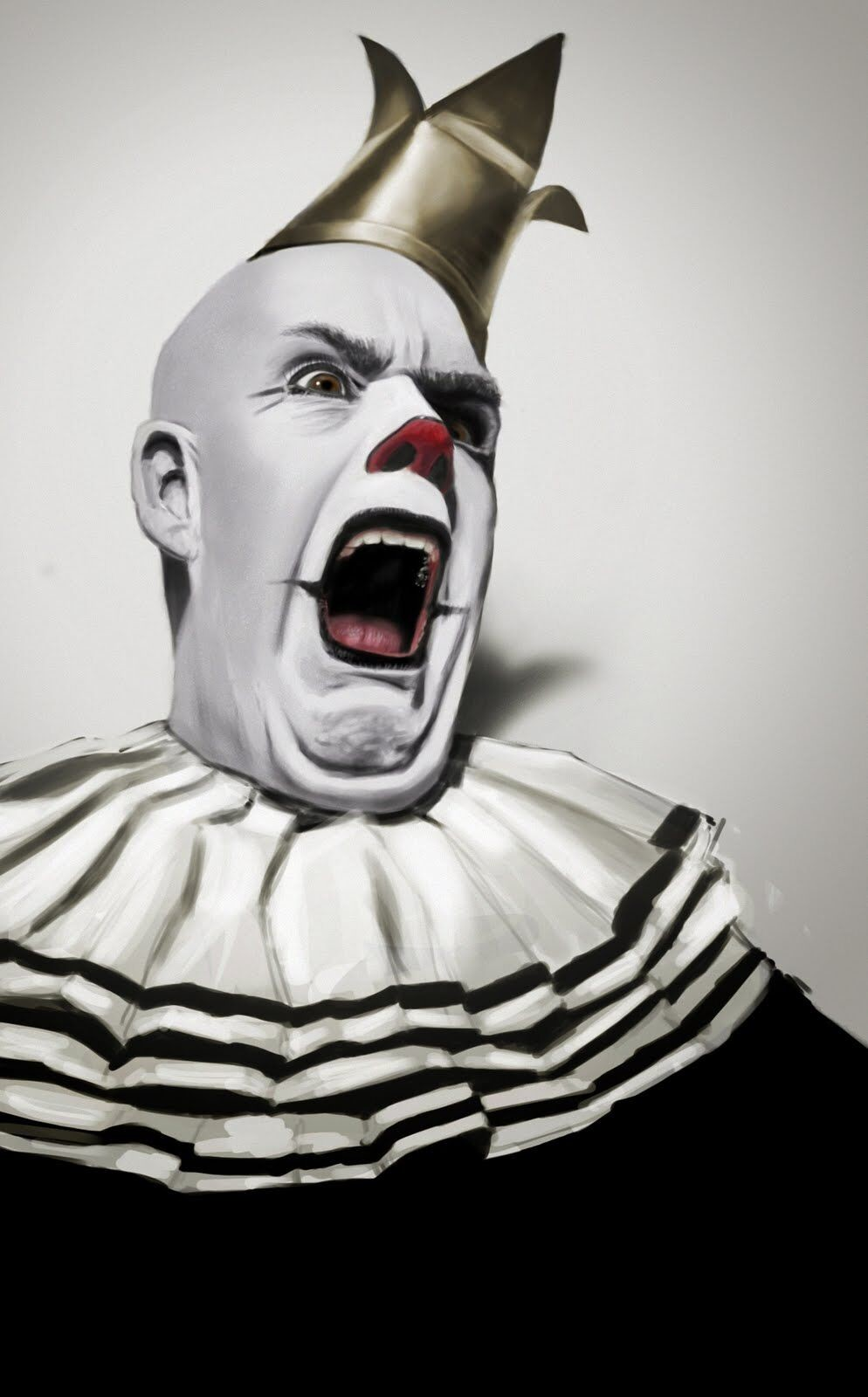 Clown Face  - Paint study