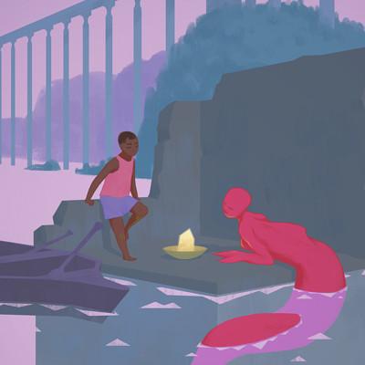 Samuel herb mermaid