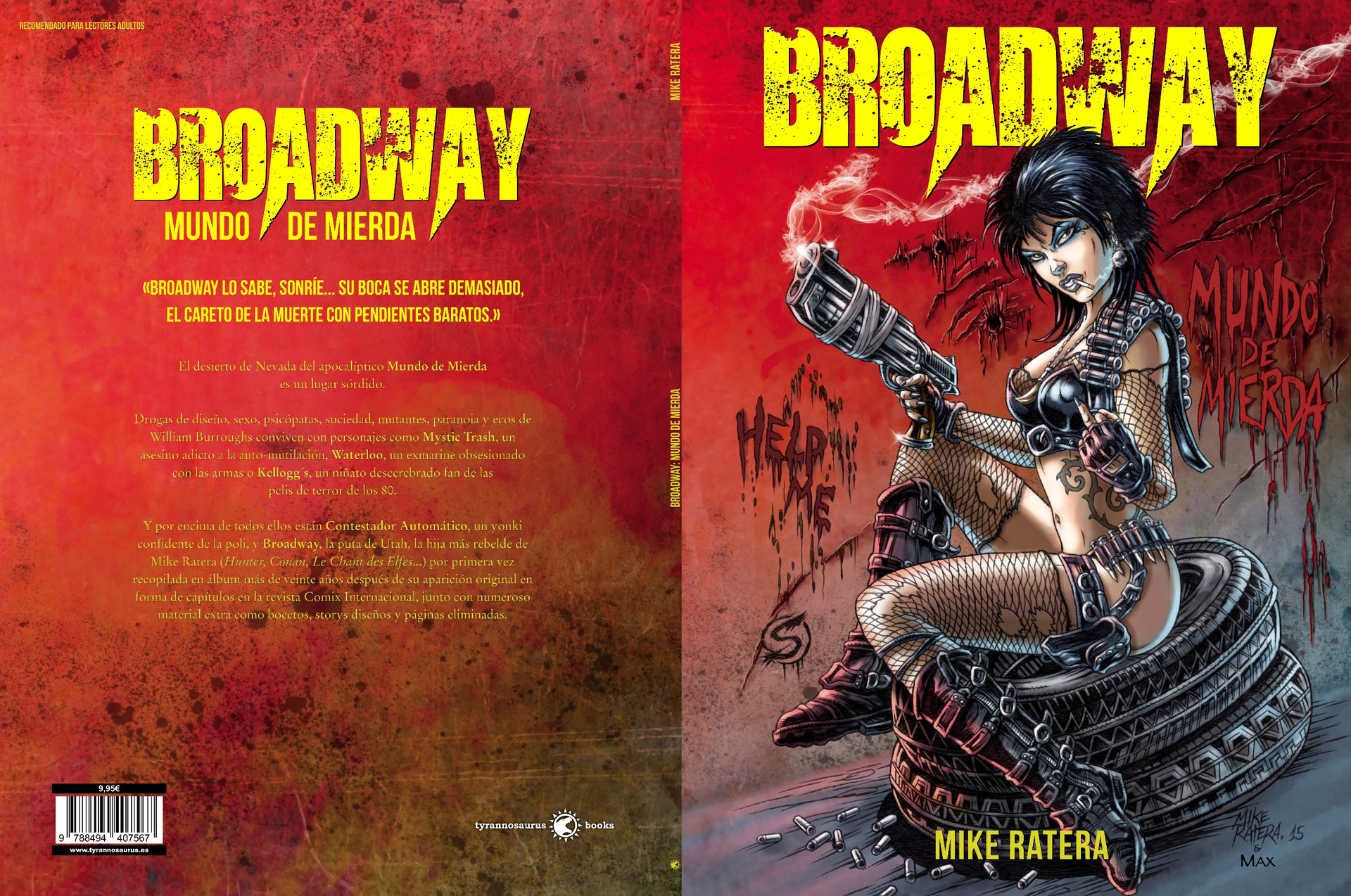 Mike ratera broadway cover c1 c4
