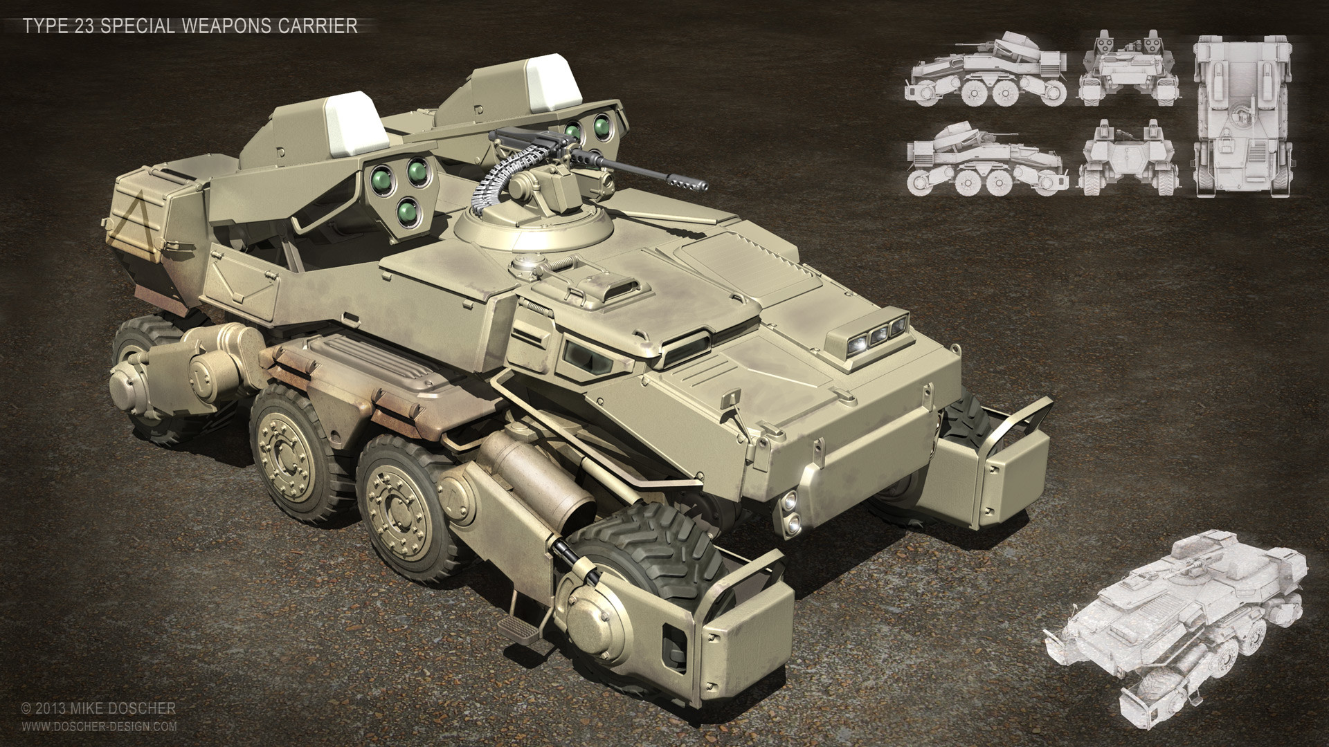Mike doscher type 23 special weapons carrier by mikedoscher d600tfc