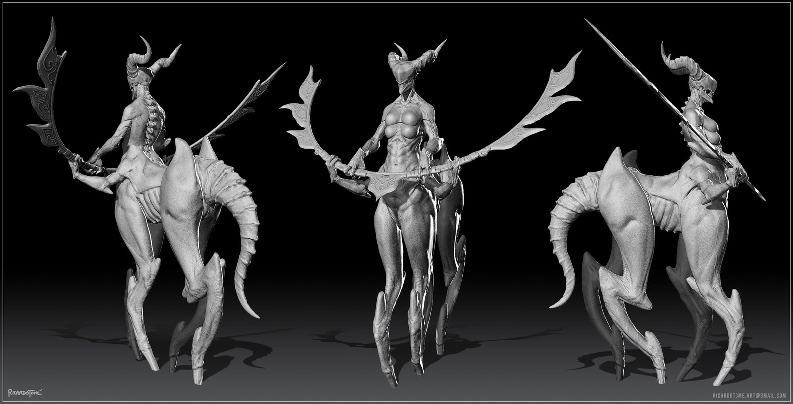 Coralice - Concept Sculpt
