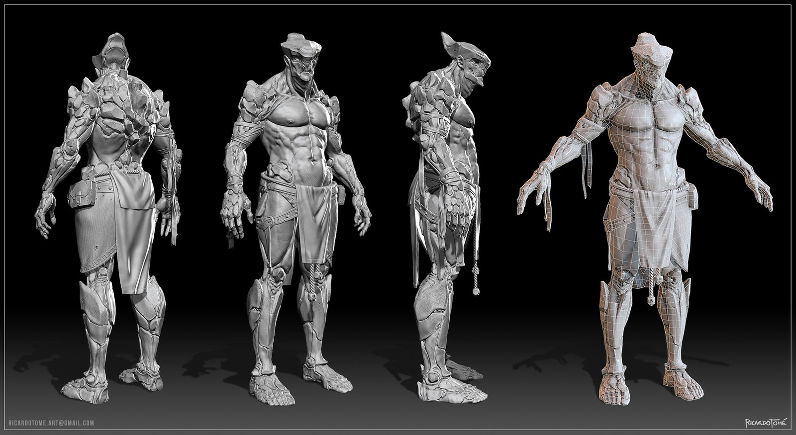 The Cleric - Concept and Production Model