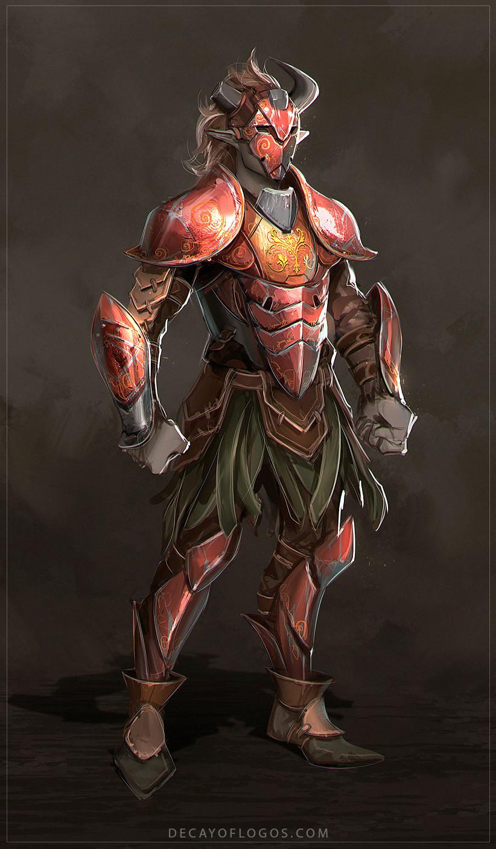 Decay of Logos - Crimson Knight Pt.1