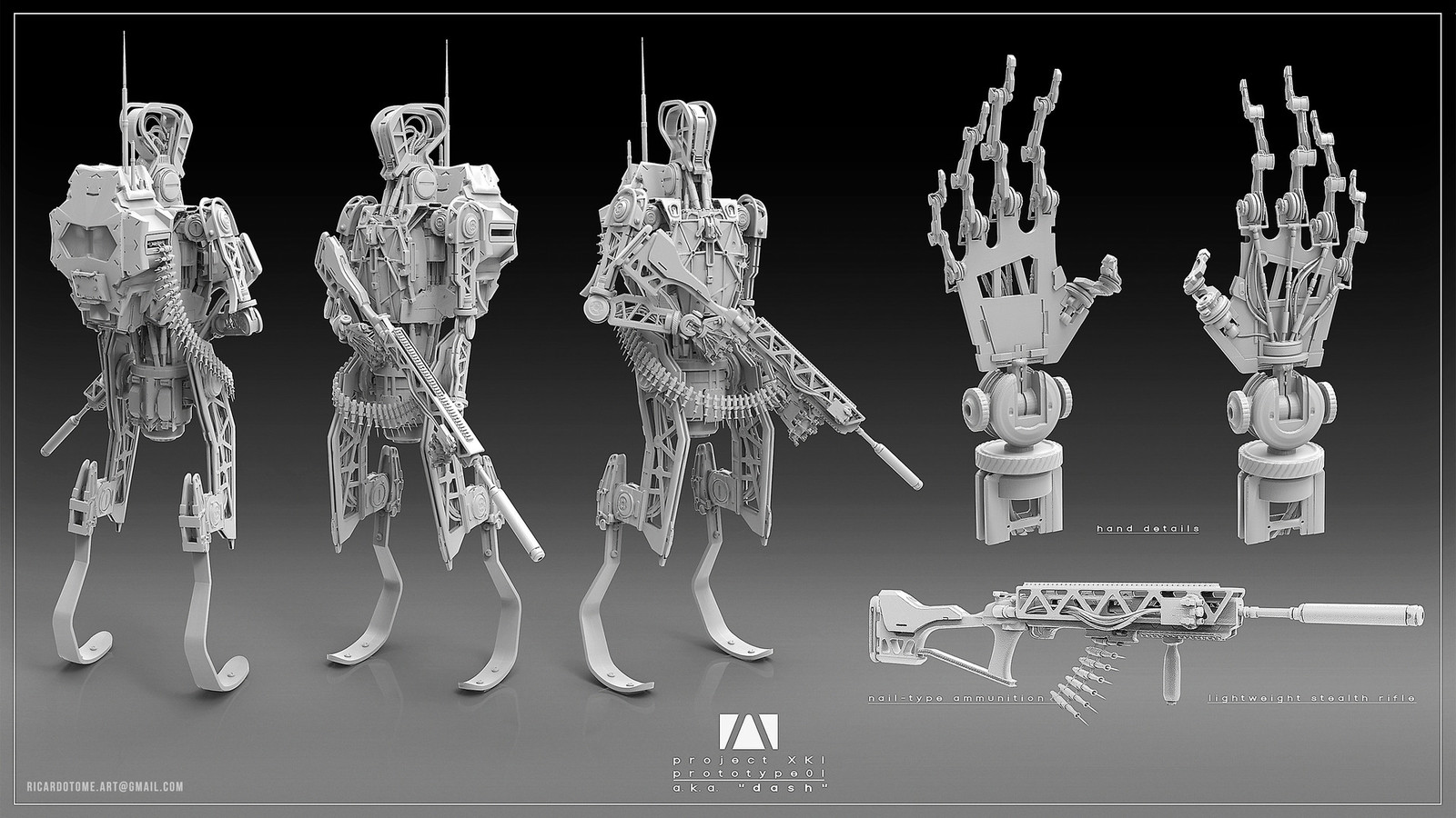 Dash - Concept Sculpt
