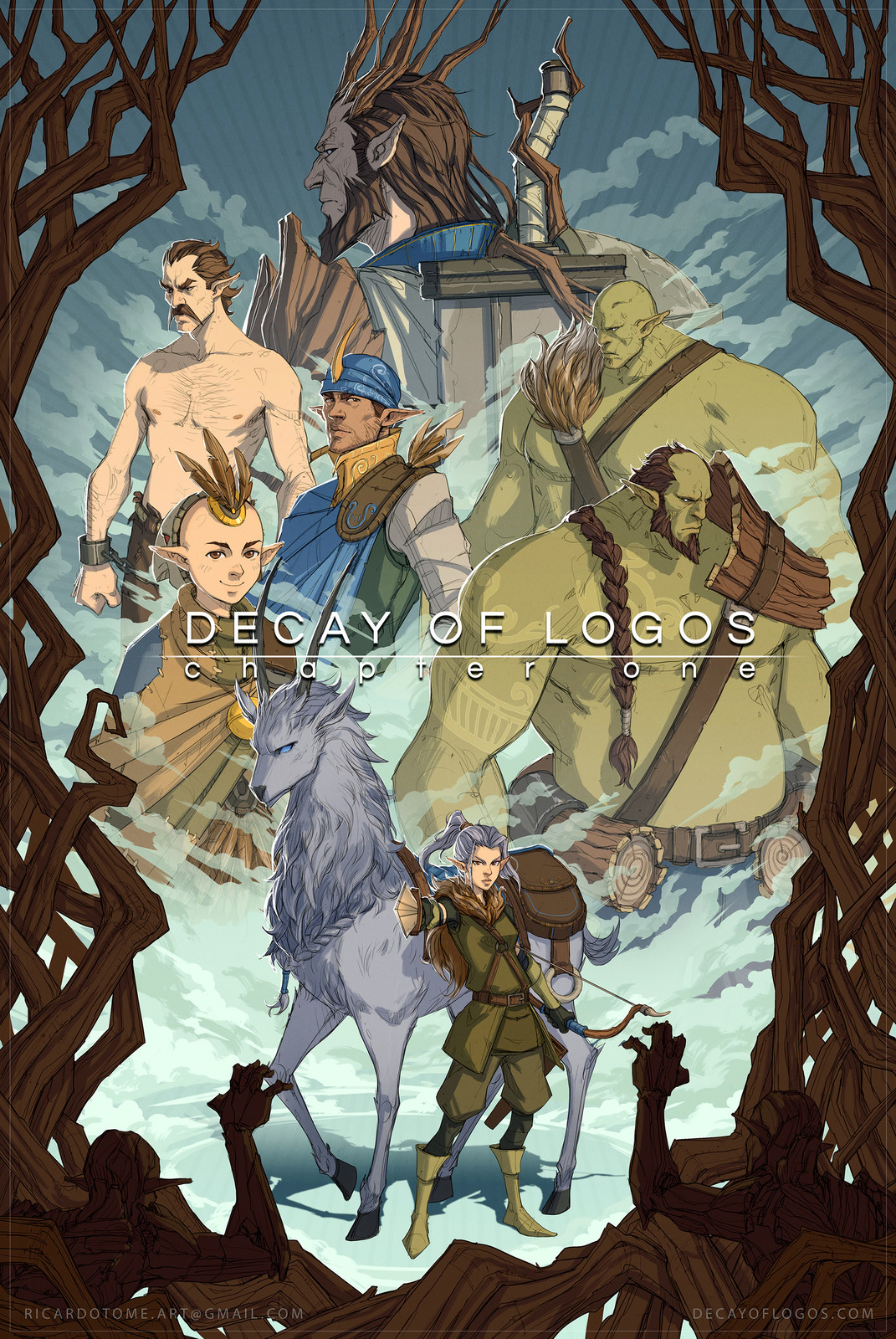 Decay of Logos - PAX East 2017 Poster no.1