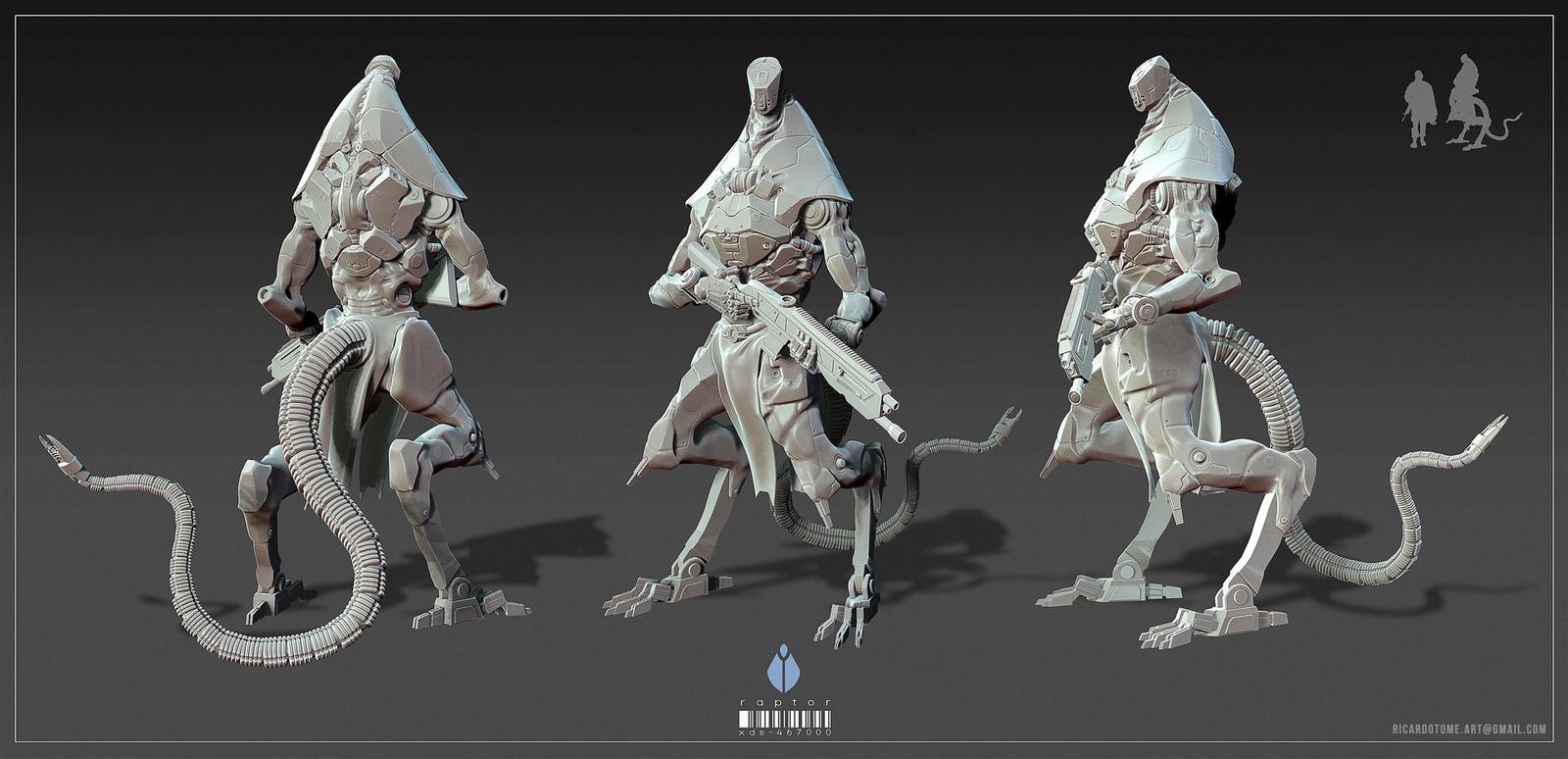 Raptor - Concept Sculpt