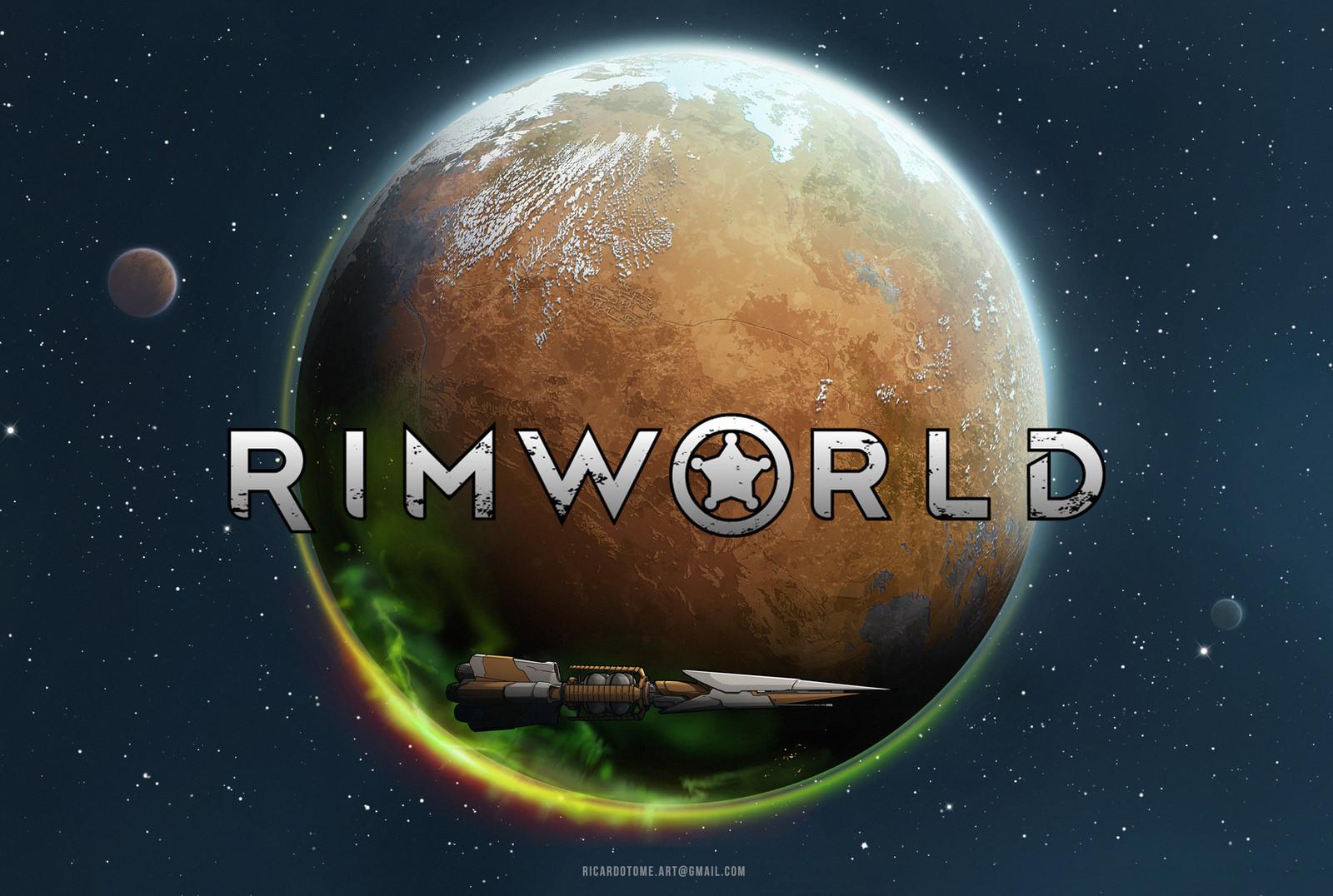 Rimworld - Main Menu Art