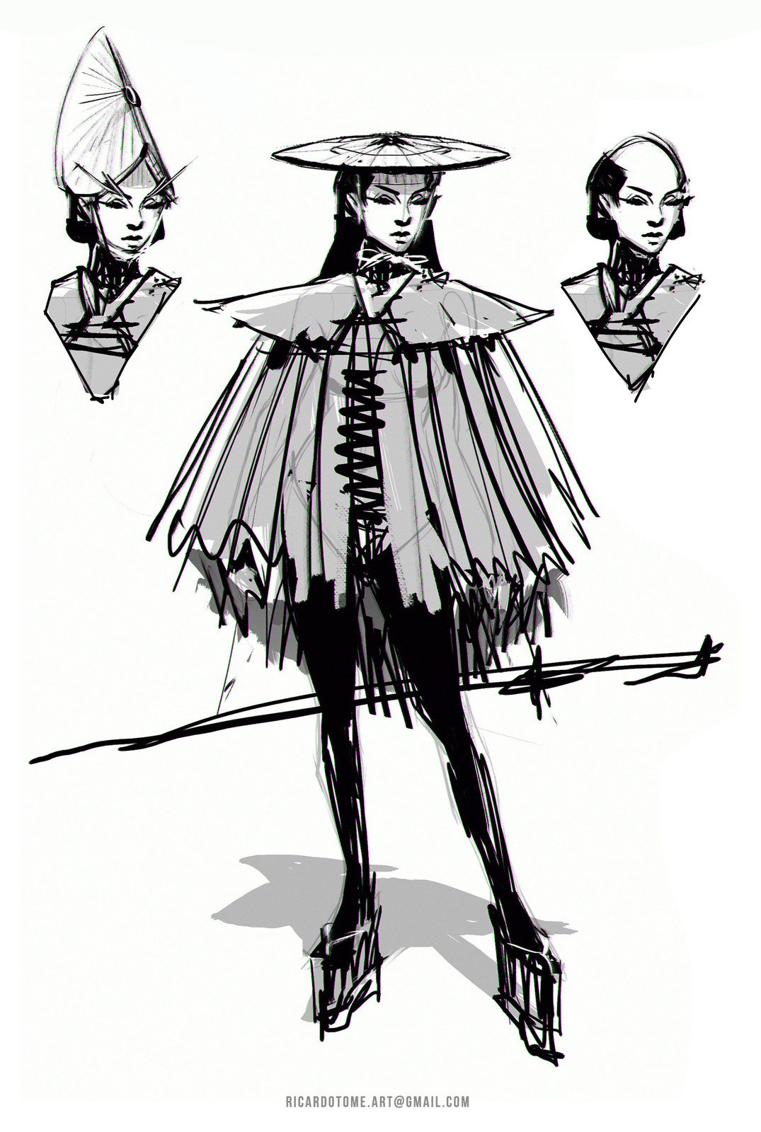 Bugeisha - Sketch