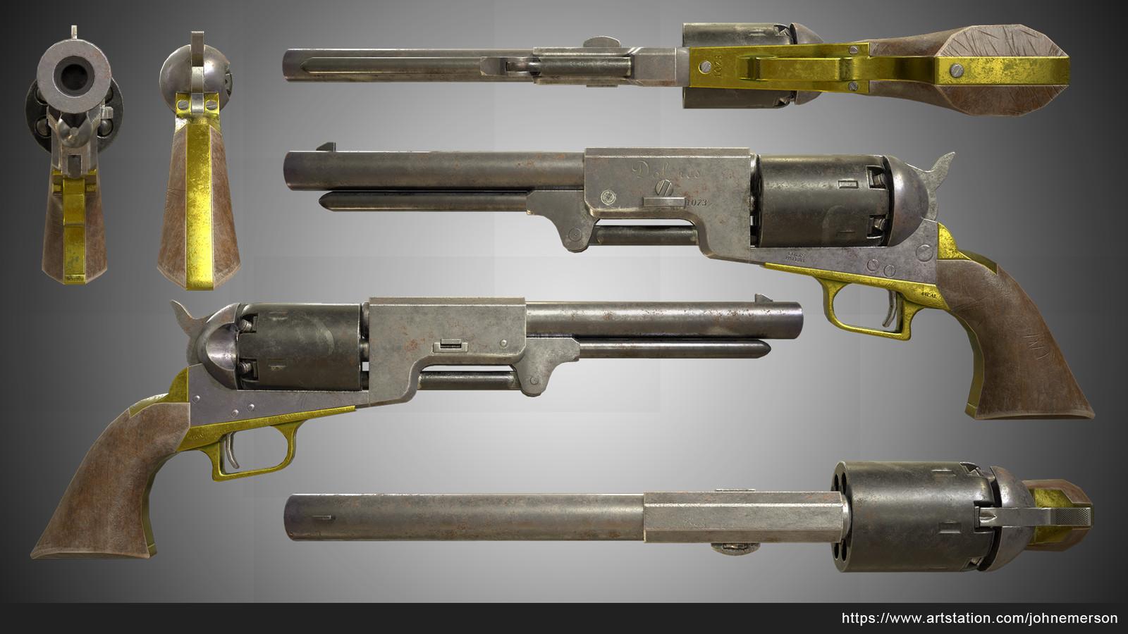 Colt 1847 Full Material
