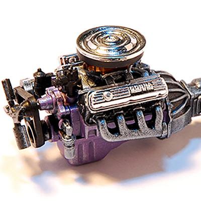 Dean arias 1 25 shelby cobra engine 2 by darktailss d5xfhmj