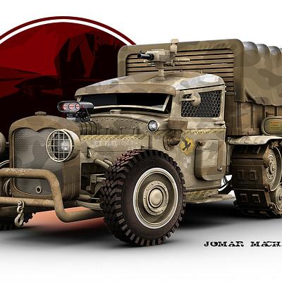 Jomar machado arrakis armored car color