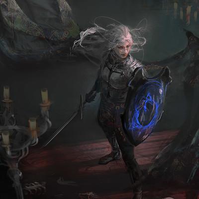 Consuelo pecchenino the dark shield