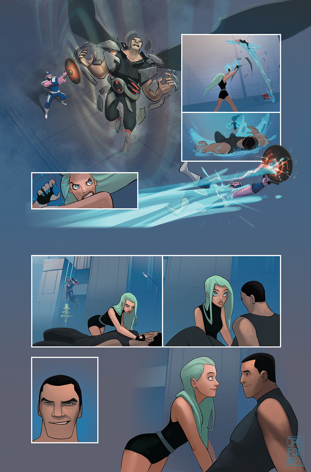 James brouwer jamesbrouwer beyondorigins aquagirl pg09