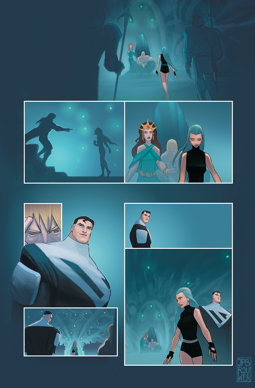 James brouwer jamesbrouwer beyondorigins aquagirl pg10