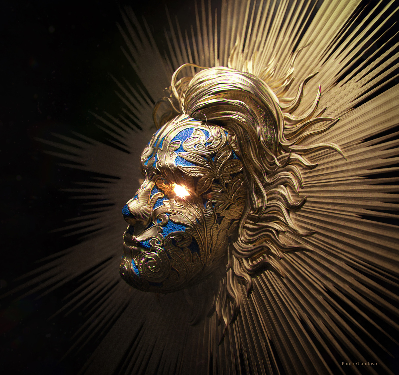 Mask of the Sun God