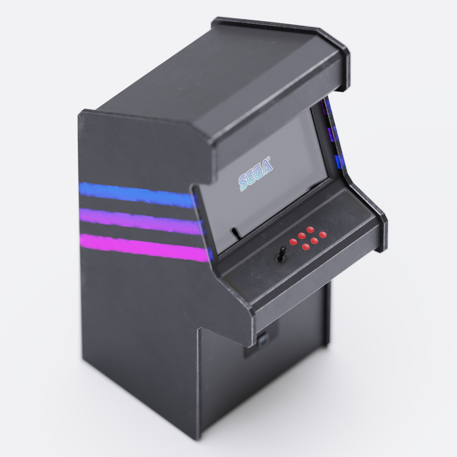 Synthwave Arcade Machine