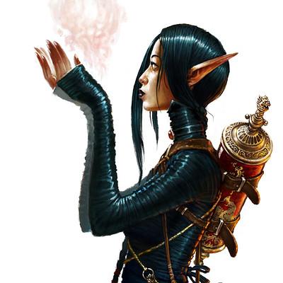 David d m cornish asian sorceress v002s