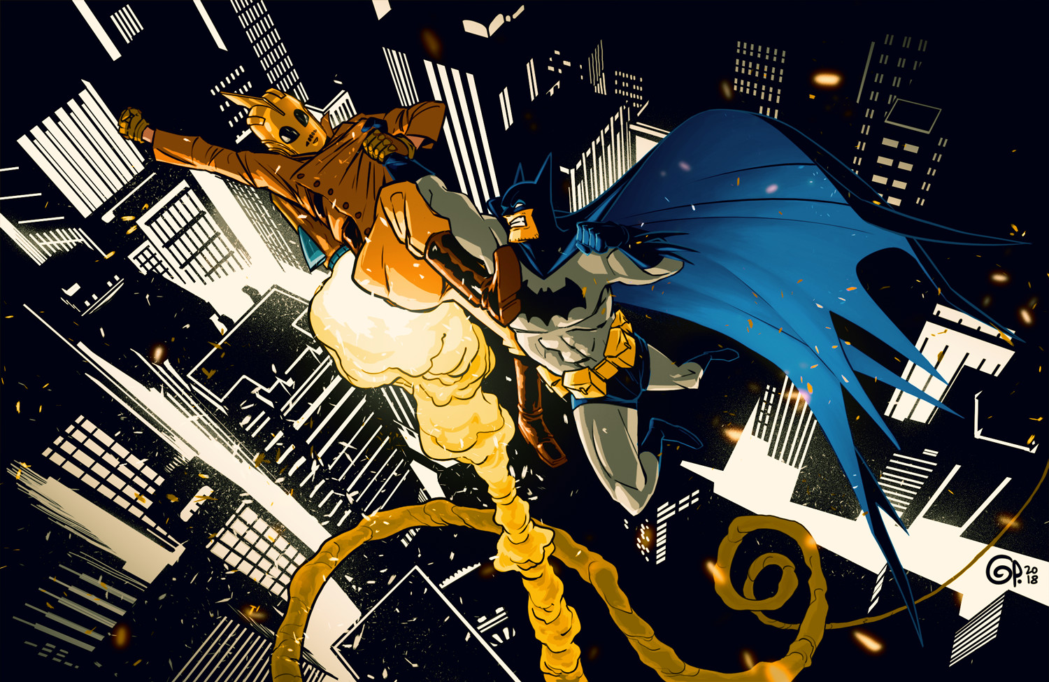 The Rocketeer vs The Batman