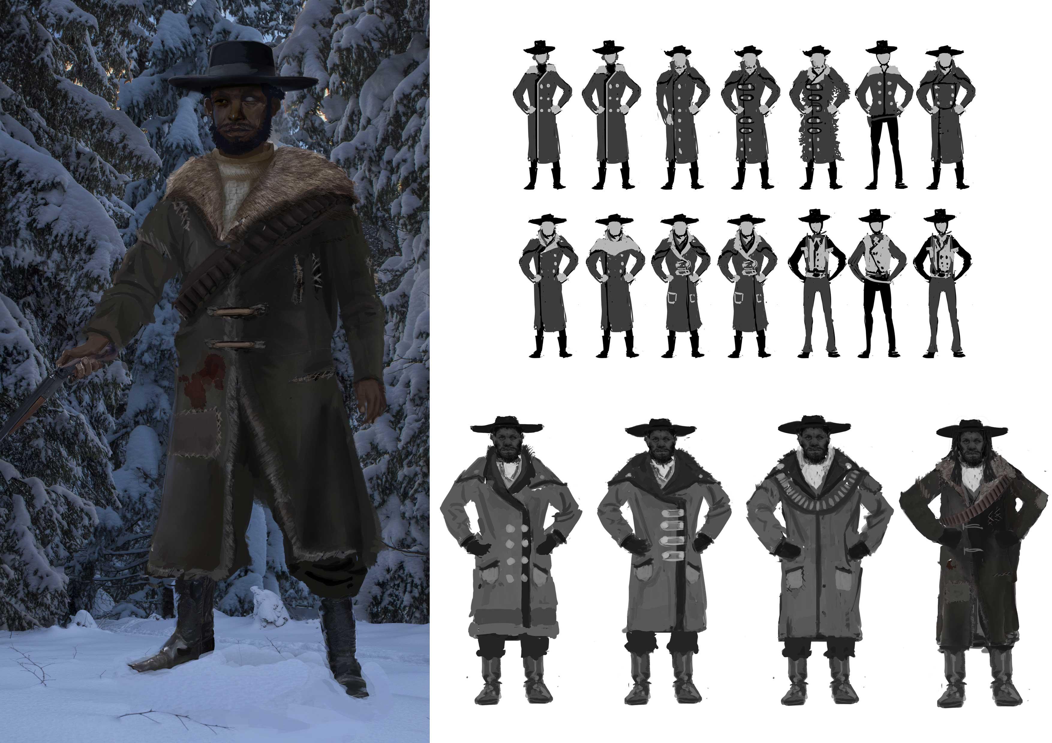 Virgil Character Design