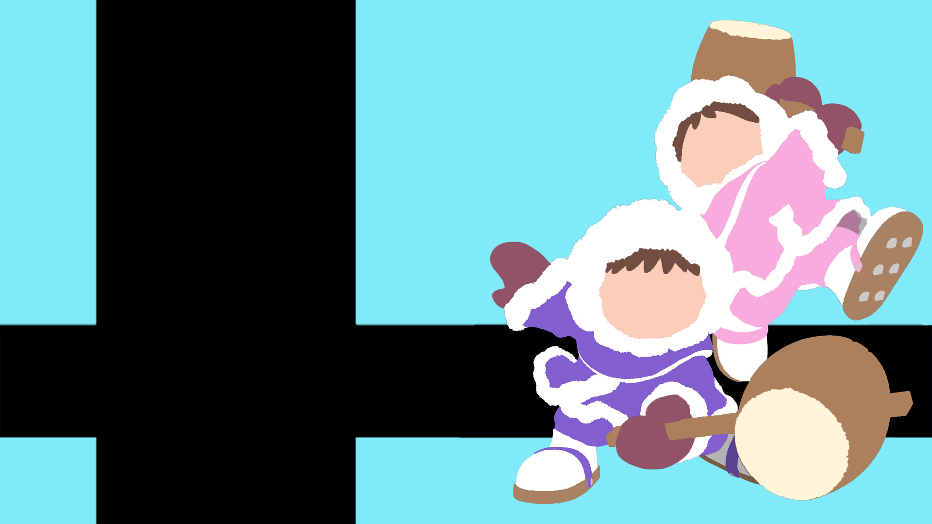 Artstation Super Smash Bros Ultimate Wallpaper Ice Climbers