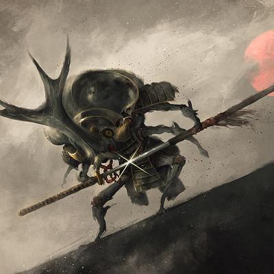 Luca merli kabuto warrior