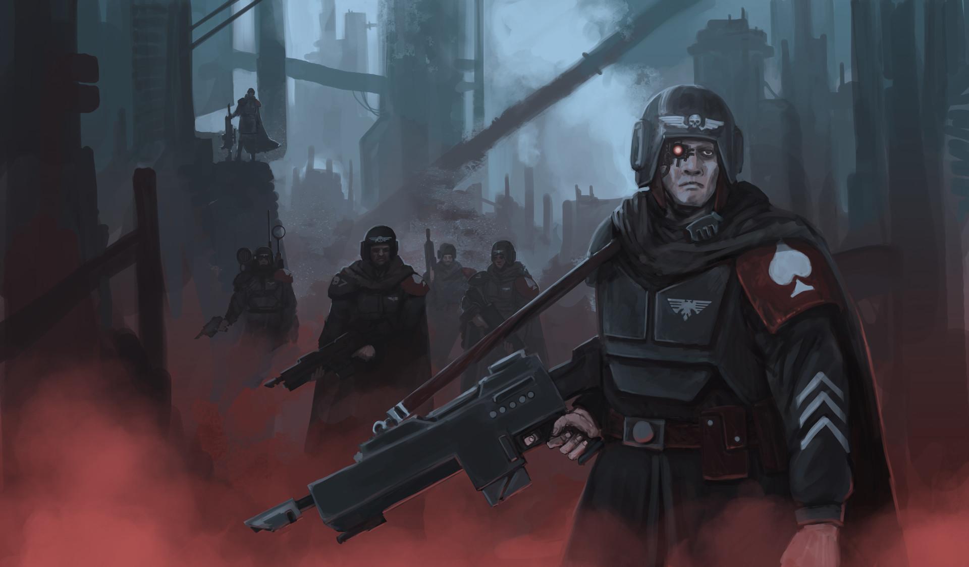 Imperial Guard Killteam by Samuel Allan [xpost from /r