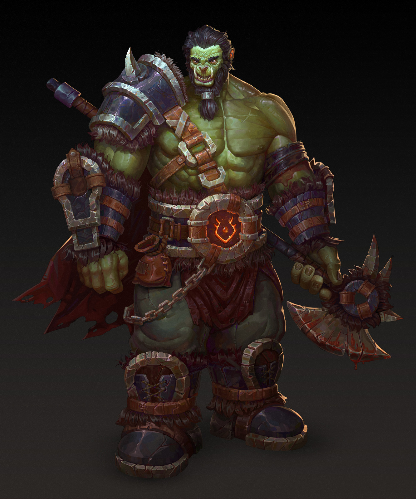 Orc character artwork